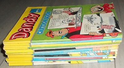 14 DANDY  COMIC LIBRARY SPECIALS , inc # 1, BULLY BEEF & CHIPS, DESPERATE DAN.