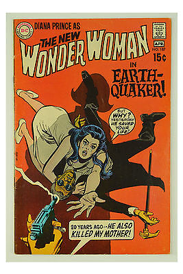 Wonder Woman #187 (Mar-Apr 1970, DC) VG Comic Book