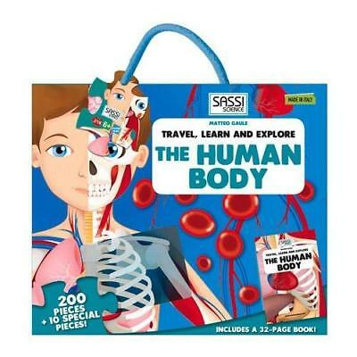 The Human Body Shaped Puzzle: 200 Pieces + 10 Special Oversize Pieces Gaule, Mat