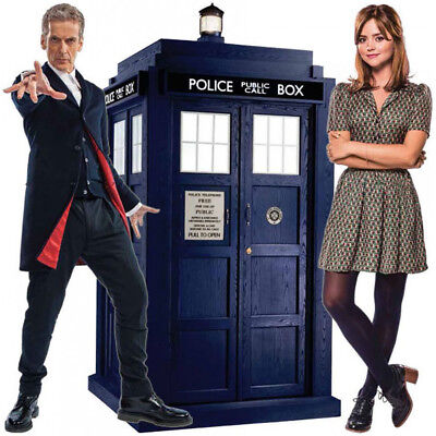 Doctor Who Brand new 12th Doctor, Clara and Tardis Mini standees 10'