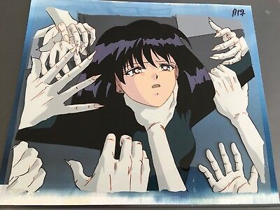 CONTROVERSIAL Sailor Moon anime MESSIAH of SILENCE production cel sketch w BG