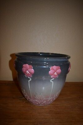 "Antique Floral ""weller"" Flower Pot - Must See!"