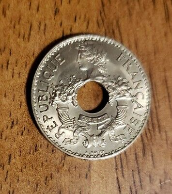 French Indo-China 1938 5 Cents Coin