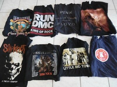 Wholesale Lot 57 Rock Hip Hop Country Retro Band Music T-shirts (h431)