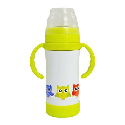 New EcoVessel Triple Insulated Stainless Steel Sippy Cup with NUK spout 295ml