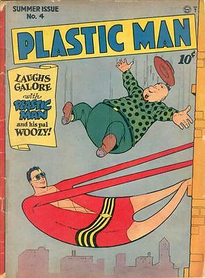Plastic Man #4 Photocopy Comic Book