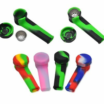 1 PCS Multi Silicone Tobacco Pipes Portable Smoking Pipes VS Metal Water Pipes