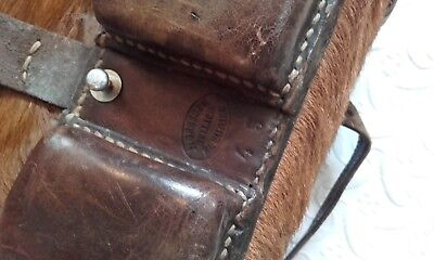 Antique Luggage / Millitary Swiss Army fur ww2 Backpack Mountaineering Rucksack