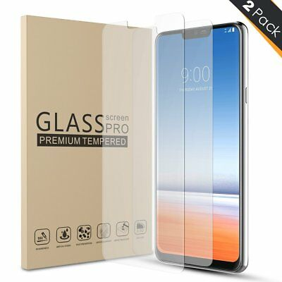 1/2-Pack Premium Tempered Glass Screen Protector Guard For LG G6 / LG G7 ThinQ
