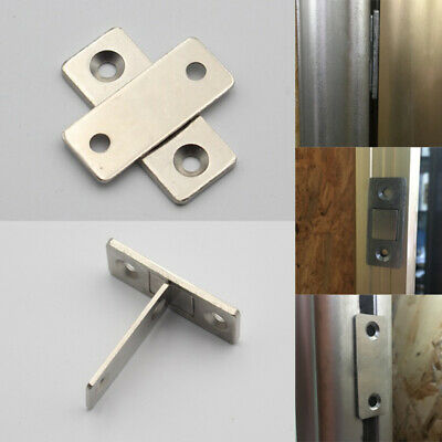 Magnetic Thin Catch Latch For Glass Door Furniture Cabinet Cupboard Low profile