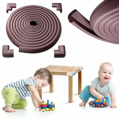 4.6 m Baby Safety Table Edge Corner Cushion Protector Guard Bumper + 8 Corners