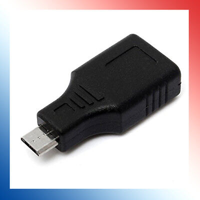 Micro USB 2.0 Male to USB Female OTG Adapter Converter Android F/M Phone