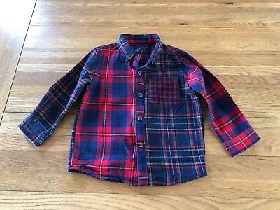 Boys Check Top From Next 12-18 Months