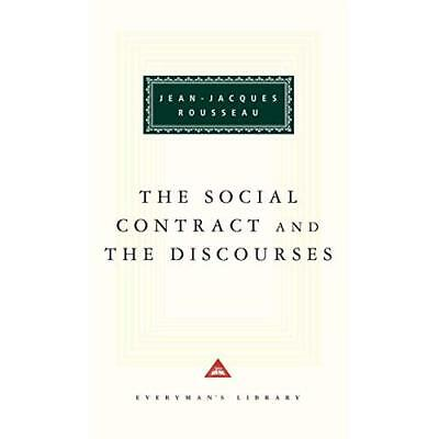The Social Contract (Everyman's Library Classics) - Hardcover NEW Jean-Jacques R