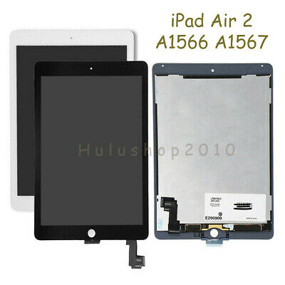 Fix For iPad Air 2 A1566 A1567 LCD Screen Touch Digitizer Assembly Replace USA