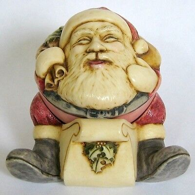 MPS Harmony Kingdom Gigglees Small Rocking Father Christmas Santa Claus Figurine
