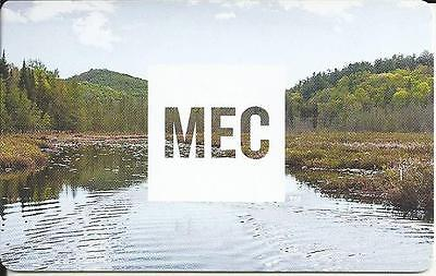 Summer Scene Mint Gift Card From Mec Canada Bilingual No Cash Value