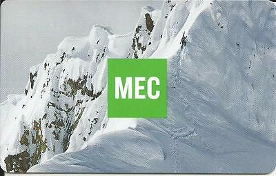 Winter Scene Mint Gift Card From Mec Canada Bilingual No Cash Value