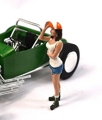 Nancy Hot Rodder Figure American Diorama 24028 1:24 Accessory Car Not Included