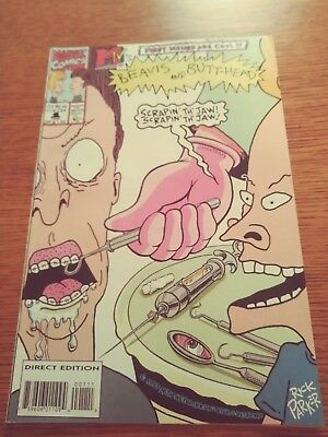 1993 MTV BEAVIS and BUTTHEAD Marvel Comics Comic Book - FIRST ISSUE - Direct Ed