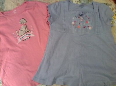 Lot Of Two gymboree Tops, Size 10/12, EUC
