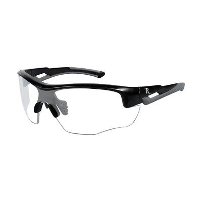 Wiley X RE301 Remington Sunglasses Youth Clear Lens Matte Black Frames