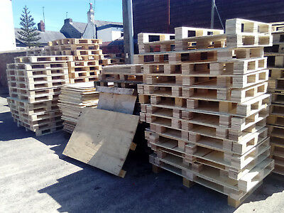 Plywood Pallets Fire Wood Sheets Blocks Timber Bonfire Allotment Shed - Free