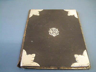 Victorian Silver Mounted Writing Pad London 1876 Retailed By Asprey & Son