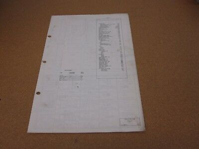 1972 ford f100 f250 pickup truck wiring diagram sheet schematics service  manual