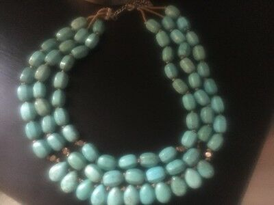 """Silpada Sterling Silver Howlite Drops of the Ocean Chain Necklace N3023 (18-20"""")"""