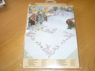 Cross Stitch Embroidery Kit-Table Runner 16X39""