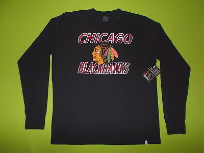 NEW Jersey CHICAGO BLACKHAWKS (M) '47 FORTY SEVEN 100% Cotton PERFECT Hockey NHL
