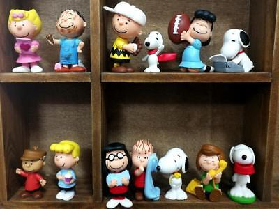 Peanuts Snoopy Mini Figure Charlie Brown Snoopy Lucy 13pcs