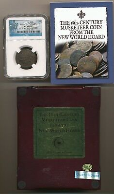 1711 D 30 D French Colonies Ngc Genuine New World Hoard