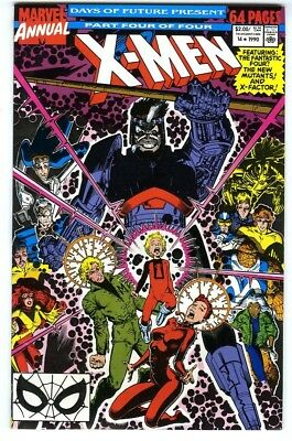 Uncanny X-Men Annual #14 (1990) VF/NM Marvel Comics 1st Gambit