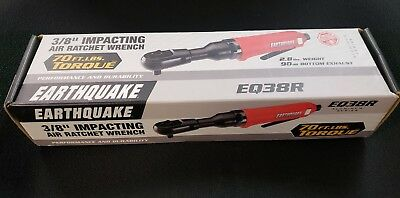 """Central Pneumatic Earth Quake 3/8"""" Impacting Air Ratchet Wrench Item 68426"""