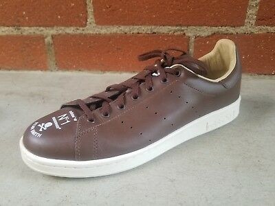 best sneakers cf85b 701aa STAN SMITH ADIDAS Neighborhood Customized Project Brown Leather Sneakers 10