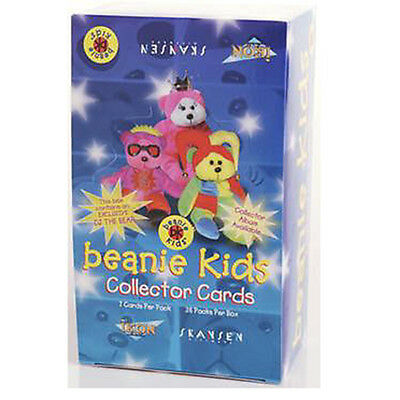 BEANIE KIDS - Official Collector Cards ~ Factory Sealed Box (Ikon) #NEW