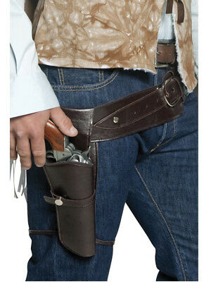 Old Wild West Cowboy Sheriff Outlaw Gun Holster Costume Accessory