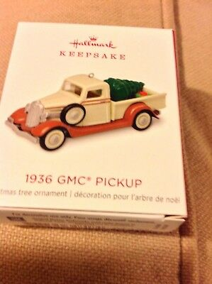 2018 Hallmark LIMITED EDITION 1936 GMC Pickup Metal NIB hard to get!!! NR
