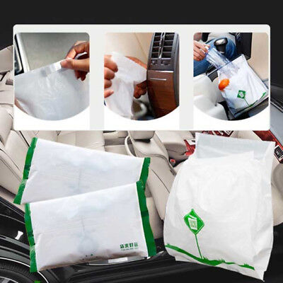 15pcs Disposable Car Garbage Bag Rubbish Organizer Car Styling Accessories BS