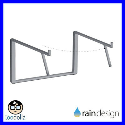 RAIN DESIGN mBar Pro+ foldable aluminium stand, MacBook and Laptops, Space Grey