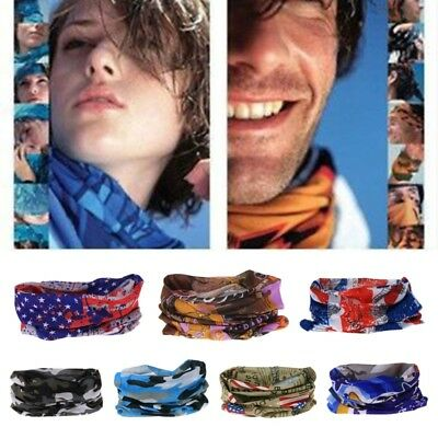 Men Yoga Outdoor Cycling Headscarf Wide Headband Headwrap Sport Neck Headwear