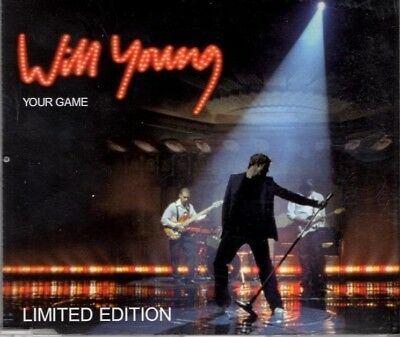 WILL YOUNG Your Game  LIMITED EDITION   2 TRACK CD  NEW - NOT SEALED
