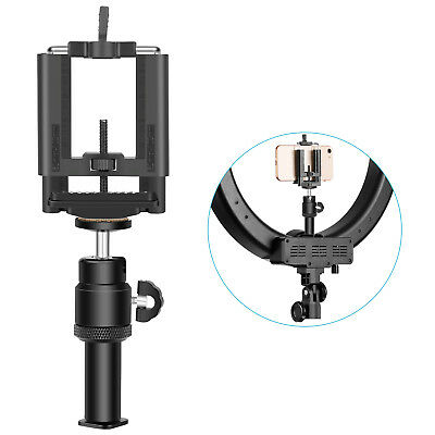 Neewer Photo Video Cold Shoe Extension/Smartphone Cradle Set for LED Ring Light