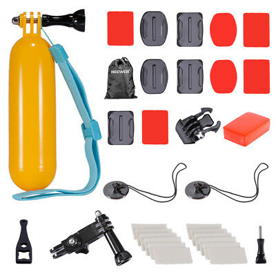 Neewer 8-in-1 Essential Outdoor Water Sport Accessory Kit for GoPro Hero 4 3+ 3