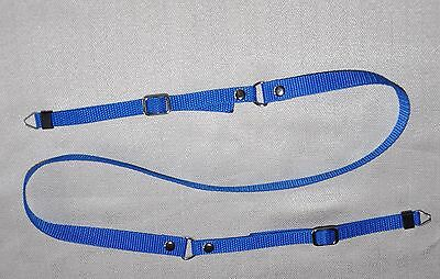 BLUE CLASSIC W 15mm RING END SHOULDER NECK STRAP FOR DIGITAL CAMERA NEW *NC96*
