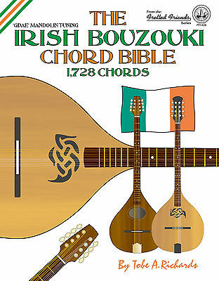Irish Bouzouki Chord Bible - 1,728 Chords (New 2016 Edition) - Gdae Tuning