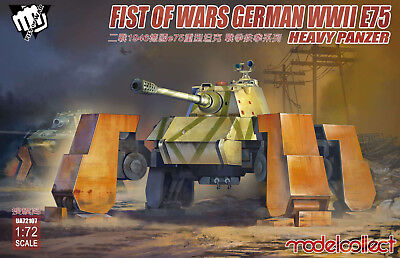 MODELCOLLECT UA72107 Fist of War E-75 Heavy Panzer in 1:72