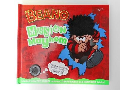 The Beano  Mission Mayhem sound effects book 2008